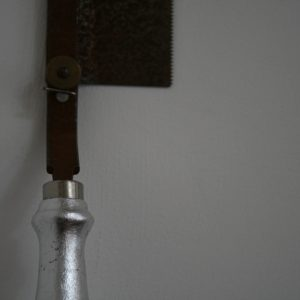 silver-saw-handle